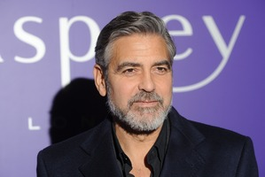 George Clooney proves grey hair isn't always a bad thing. Photo / Getty