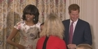 Prince Harry, Michelle Obama at White House event 
