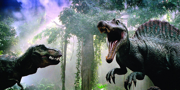 A scene from Jurassic Park 3. Photo/supplied