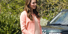 Kate Middleston, The Duchess Of Cambridge, has not been spotted in specialty maternity wear.Photo / Getty