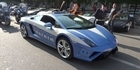  Italian police show off Lamborghini patrol car 