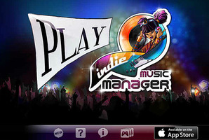 A screenshot from the 'indie music manager' video game.