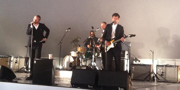 The National during their epic performance. Photo/supplied