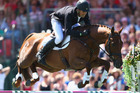 New Zealand's Jonathan Paget won the Badminton horse trials. Photo / Getty Images