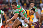Sam Burgess had 65 fantasy points against the Broncos. Photo / Getty Images
