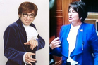 Has Hekia Parata lifted her style from Austin Powers? Photos / Supplied
