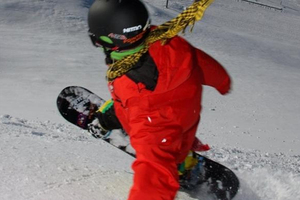 Jaden Beange at Cardrona Skifield in 2009.  Photo / Otago Daily Times