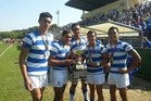 Saint Kentigern College won the Rugby World Youth Tournament for the first time. Photo / Supplied