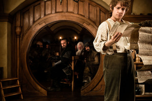 A scene from The Hobbit: An Unexpected Journey. Photo/supplied
