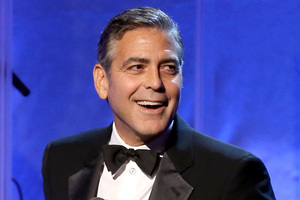 George Clooney will take the stage at Monday's award ceremony. Photo / Getty Images