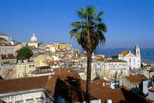 Looking over Lisbon's skyline. Photo / Thinkstock