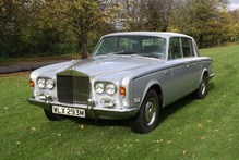 The 1974 Rolls Royce Silver Shadow once owned by Freddie Mercury, the late singer from the rock band Queen. Photo / AFP