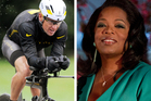 This combination image made of file photos shows Lance Armstrong, left, on Oct. 7, 2012, and Oprah Winfrey, right, on March 9, 2012. Photo / AP
