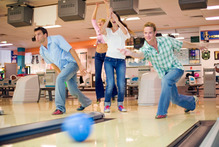 Bowling well is more about technique than strength, and is always fun. Photo / Thinkstoc