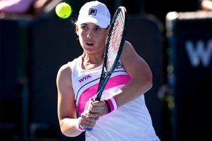 Marina Erakovic will take on world No 40 Alize Cornet in the first round of the Australian Open. Photo / Dean Purcell.