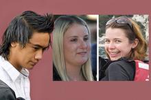 Jahche Broughton attacked Zara Schofield and caused the death of Karen Aim. Photos / NZ Herald, Supplied