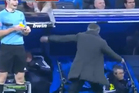 Jose Mourinho had a minor meltdown on the touchline this weekend. Photo / Youtube.