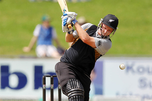 Colin Munro, born in Durban but who moved to New Zealand with his family at age 15, makes his debut batting at No 7 and offering some back up medium pace. Photo / Gallo Images.