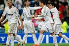 Real Madrid needed a second-half double from Cristiano Ronaldo to beat Real Sociedad 4-3. Photo / AP