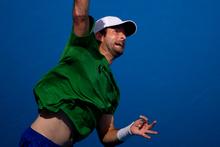 Battling Brian Baker feels he has unfinished business.  Photo / Greg Bowker