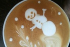 Impressive coffee art. Photo / Supplied
