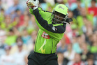 Chris Gayle has been in patchy form for the Thunder in this season's Big Bash League. Photo / Getty Images