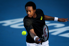 Gael Monfils of France is a blessed athlete, but has proven to be as human as the rest of us. Photo / Sarah Ivey