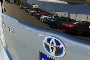 Toyota dominated new-car sales last year with a 21 per cent share of the market. Photo / Bloomberg