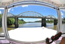 Cruising the Waikato River on Discovery houseboats can be as lazy as you like. Photo / Supplied
