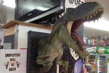 Shoplifters will be eaten. Photo / Supplied