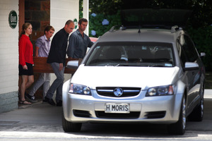 Funeral of Ross Appelgren in Northcote Auckland today. 11th January 2013 Herald on Sunday photograph by Doug Sherring