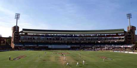 A general view of the action on the fifth day of the second test match between South Africa and England at St Georges Park, Port Elizabeth, South Africa. Photo / Getty Images