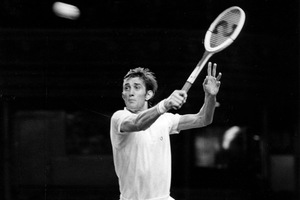Onny Parun made the Australian Open final in 1973. Photo / NZ Herald