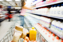 Food items make up 19 per cent of the CPI basket. Photo / Getty Images