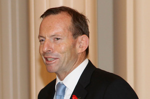 Strategists are worried about Abbott's unpopularity with women. Photo / AP