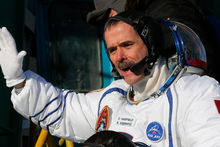 Canadian astronaut Chris Hadfield. Photo / AP