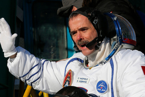 Canadian astronaut Chris Hadfield. Photo / AP