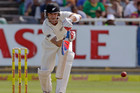 New Zealand's batsmen, Brendon McCullum included, had few answers to the venom of South Africa's bowlers during the first test.  Photo / AP