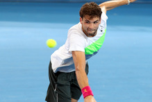 Good form: Grigor Dimitrov reached the Brisbane final. Photo / AP 