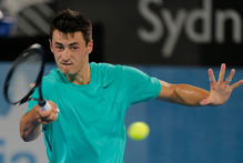 Aussie Bernard Tomic is seen as an up and comer in the game. Photo / AP 