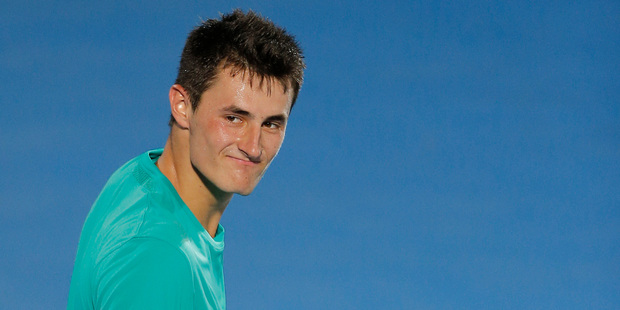 Australia's Bernard Tomic. Photo / AP