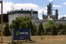The Tasman pulp and paper mill in Kawerau, where are 110 jobs are being axed. Photo / NZH