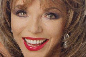 Joan Collins and actress Stephanie Beacham are in talks of a revival of '80s TV show, Dynasty. Photo / Supplied