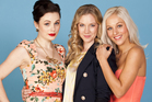 Brooke Williams as Lana Jacobs , Amy Usherwood as Emma and Kerry-Lee Dewing as Kylie from Shortland St. Photo / Supplied