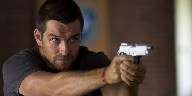 Antony Starr plays a wayward town sheriff in Banshee. Photo / Supplied