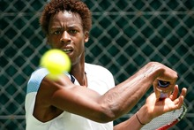 Gael Monfils. Photo / NZ Herald
