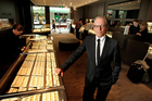 Post-Christmas trading in Australasia has been better than North America for Sir Michael Hill, jeweller. Photo / Brett Phibbs
