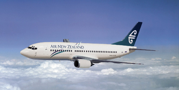 Air New Zealand was one of 13 risers - up 0.4 per cent to $1.31. Photo / Supplied