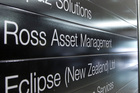 The Ross Asset Management office in Wellington. Photo / Mark Mitchell