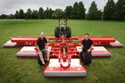 Trimax says the sales of its 10m-wide X-WAM turf mower in the US have now passed $1.4 million. Photo / APN